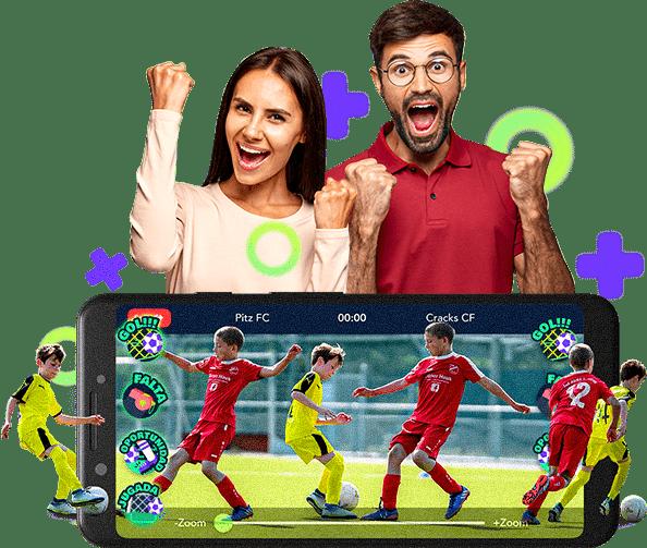 Narramos/relatamos el fútbol de tus hijos